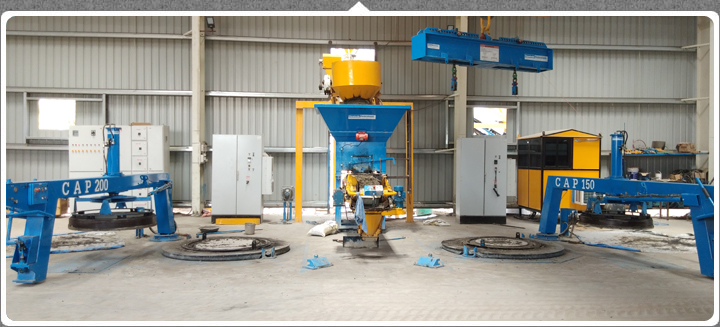 Pipe Making Machine - Concrete, Lined Pipes, Hume, Jacking Pipes