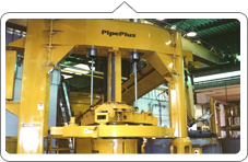 Manufacturer of Concrete Pipe Making Machine for Producing more than 60 pipes/hour.