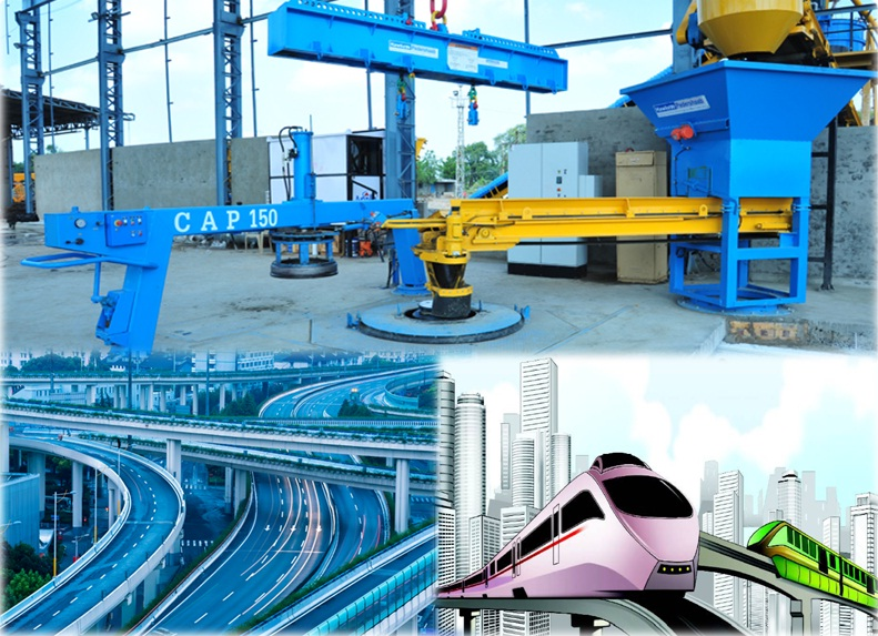 Concrete Making Machines in Infrastructural Development