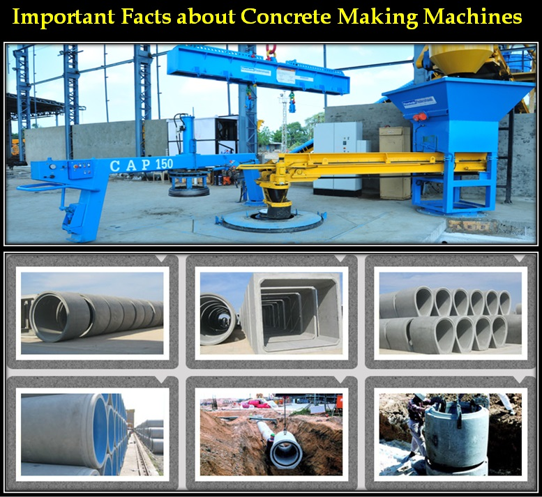 Important Facts About Concrete Making Machine